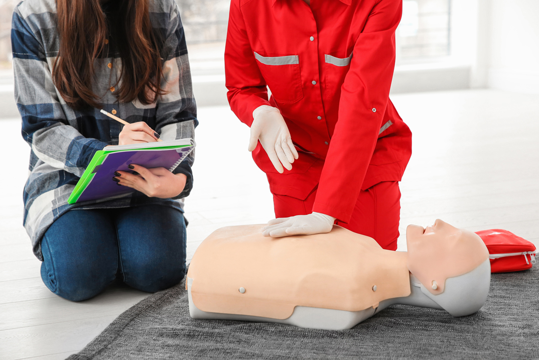 Workplace First Aid Training Course for Teachers
